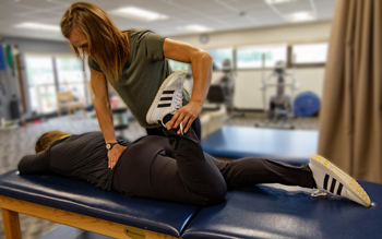 Manual therapy treats muscle aches, joint pain, and limited range of motion